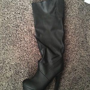 Victoria's Secret knee high high boots
